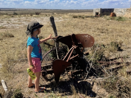 Yalata Homestead Ruins, on the way to Fowler's Bay.Travelling Family Australia