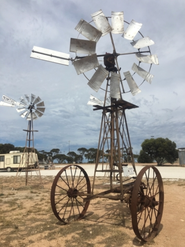 Penong Windmill Museum, South Australia.Travelling Family Australia