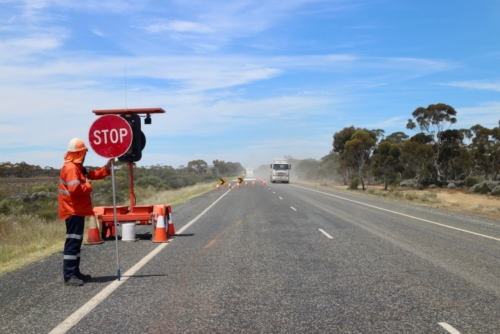 Roadworks...Travelling Family Australia