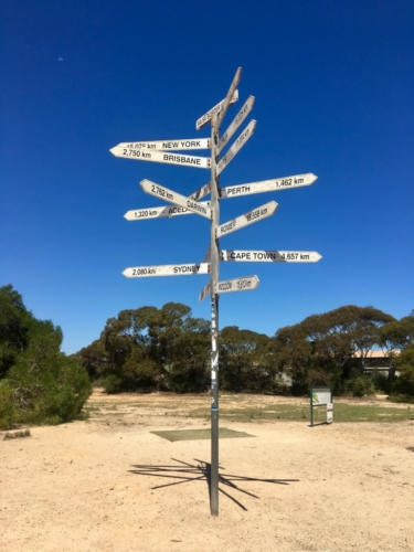 Border Village. Crossing the Nullarbor.Travelling Family Australia
