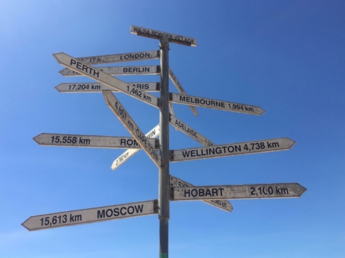 Border Village. Crossing the Nullarbor.Travelling Family Australia